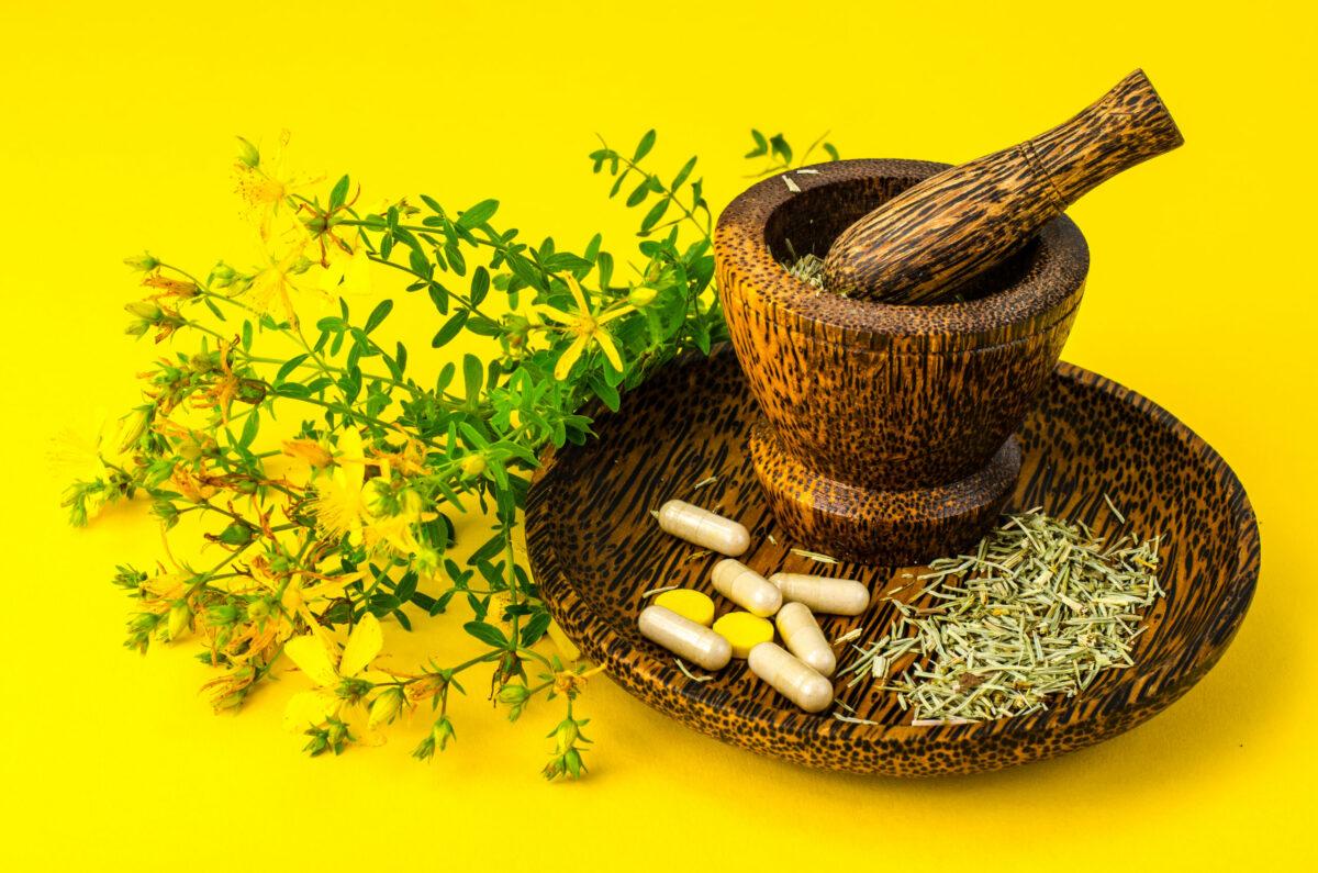 Herbal, Medical, Pills, for depressions