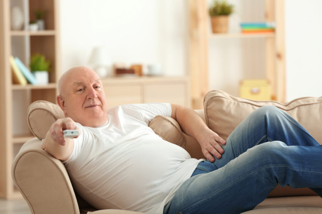 Sedentary Lifestyle Concept